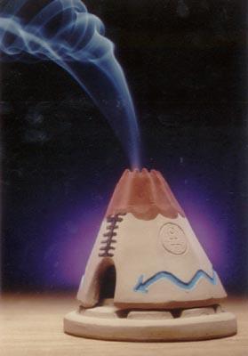 chimenea and pinon wood burner