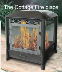 Fire Pits and Custom Made Safety Screens, Chimineas - Outdoor ...