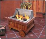 fire pit, patio fire pit, california campfire, campfire