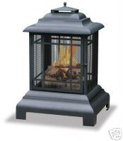 outdoor fireplace, fire pit, chiminea