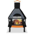 This is a lot of fireplace for the money. Not to mention it's just as awesome sitting there not being used as a fireplace. It's a great addition to any patio or backyard.