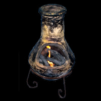 chiminea gas fire kit
