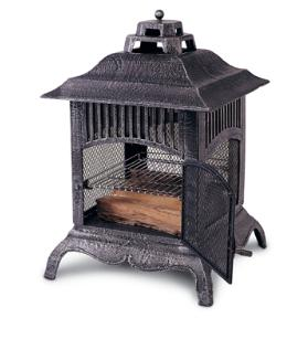 FREE SHIPPING THE PAGODA CHIMINEA