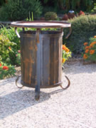propane tank, propane tank table, propane tank cover, propane, patio furniture, gas grills, gas fire pit, gas chiminea