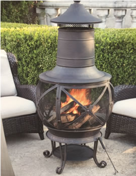 CAst Iron chimineas