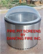 solo fire pit safety screen