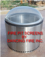 SOLO Bonfire fire pit safety spark screen