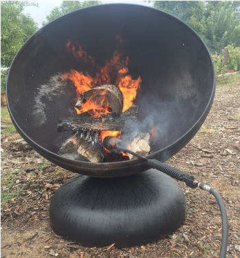 Chimineas Fire Pits And Custom Made Safety Screens Home