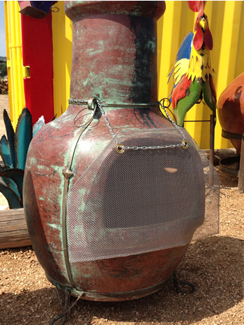 Chiminea Safety Screen